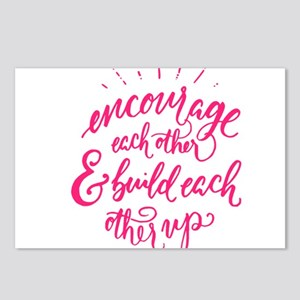 ENCOURAGE EACH OTHER Postcards (Package of 8)