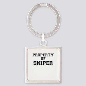 Property of SNIPER Keychains
