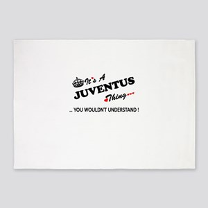 JUVENTUS thing, you wouldn't unders 5'x7'Area Rug