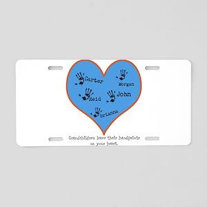 Grandchildren Leave Handprints - 5 children Alumin