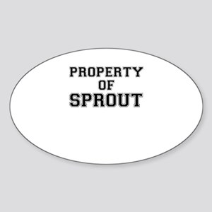 Property of SPROUT Sticker