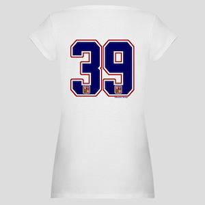 CZ Czech Ceská Hockey 39 Maternity T-Shirt