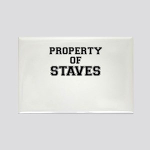 Property of STAVES Magnets