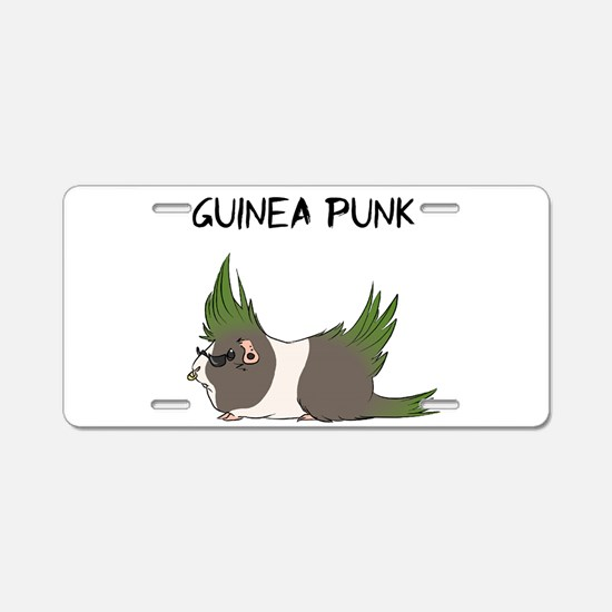 Guinea Punk Aluminum License Plate