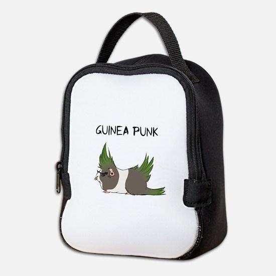 Guinea Punk Neoprene Lunch Bag