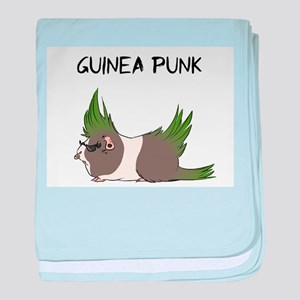 Guinea Punk baby blanket