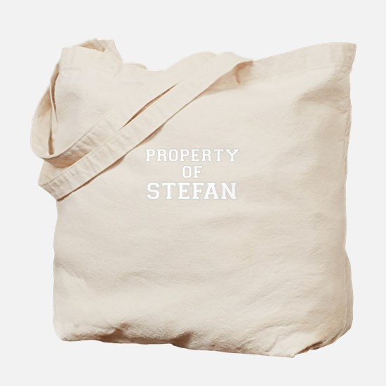 Property of STEFAN Tote Bag