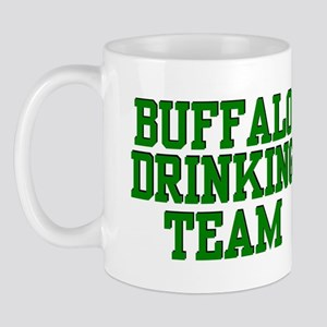 Buffalo Drinking Team Mug