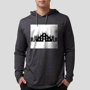 Milan skyline Long Sleeve T-Shirt