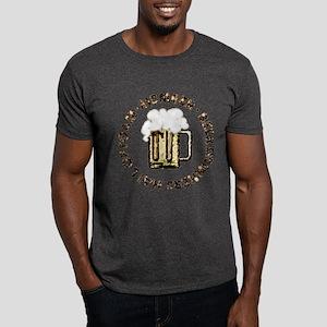 * MEMBER * Beer Drinkers Hall Of Foam - Dark T-Sh