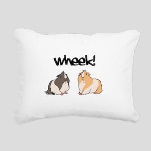 Wheek Guinea pigs Rectangular Canvas Pillow