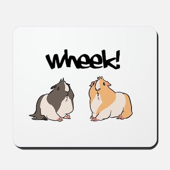 Wheek Guinea pigs Mousepad