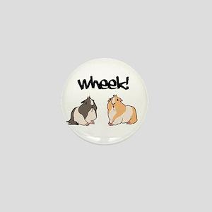 Wheek Guinea pigs Mini Button
