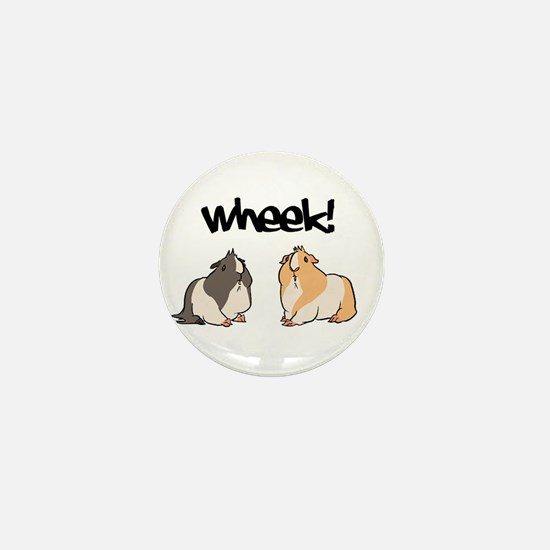 Wheek Guinea pigs Mini Button