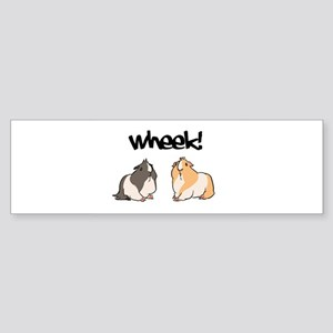 Wheek Guinea pigs Bumper Sticker
