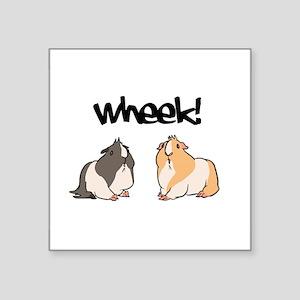 Wheek Guinea pigs Sticker