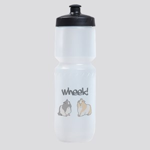 Wheek Guinea pigs Sports Bottle