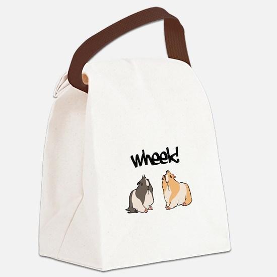 Wheek Guinea pigs Canvas Lunch Bag
