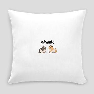 Wheek Guinea pigs Everyday Pillow