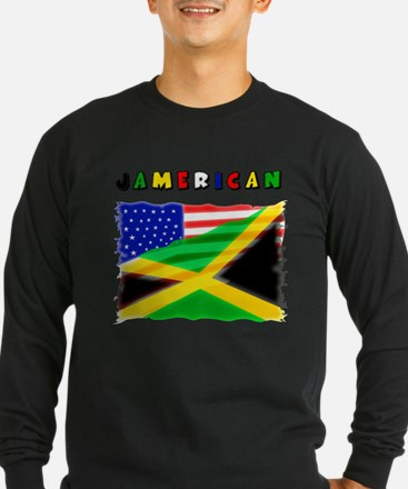 Jamerican Long Sleeve T-Shirt