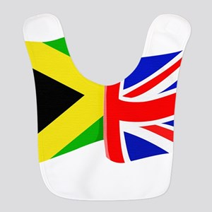 British Jamaican Polyester Baby Bib