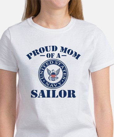 Proud Mom Of A US Na Women's Classic White T-Shirt