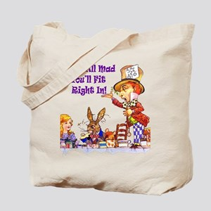 MAD HATTER RULES Tote Bag
