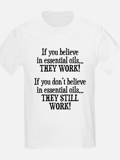 Believe in Essential Oils T-Shirt