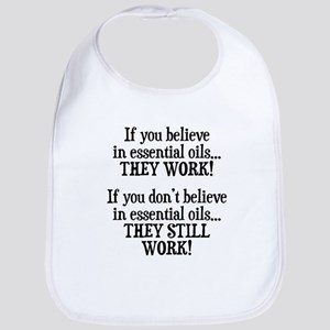 Believe in Essential Oils Bib