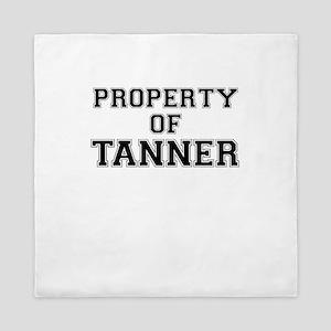 Property of TANNER Queen Duvet