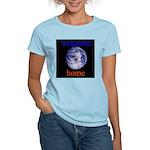 338.welcome home Women's Pink T-Shirt