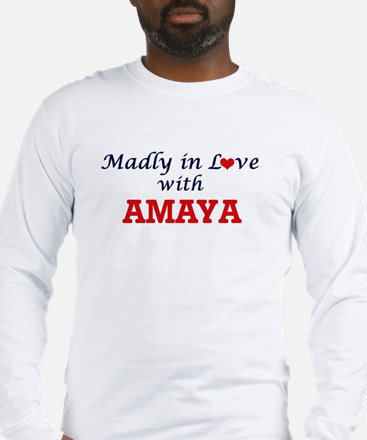 Madly in Love with Amaya Long Sleeve T-Shirt