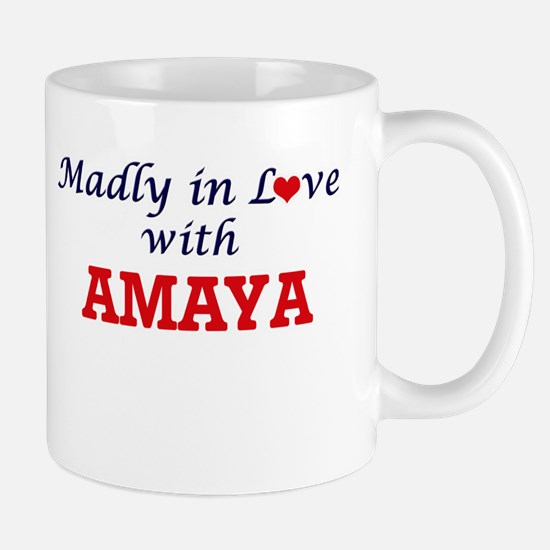 Madly in Love with Amaya Mugs
