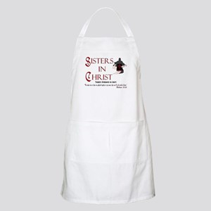 Sisters In Christ  BBQ Apron