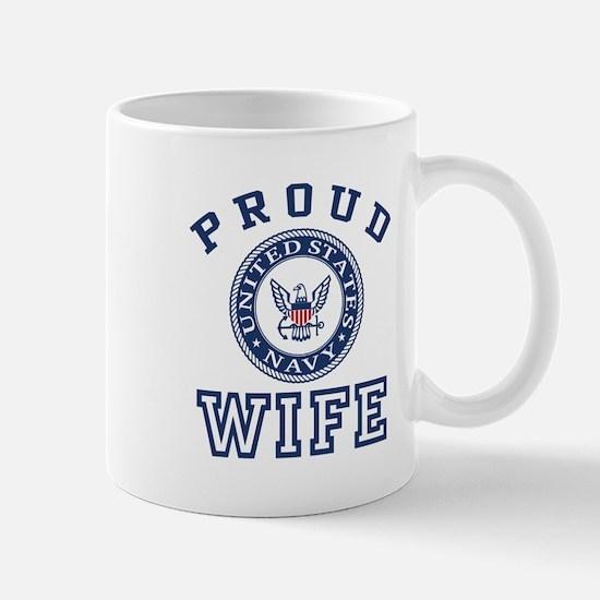 Proud US Navy Wife Mug
