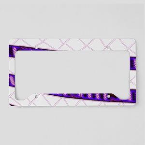 Snakeskin Rails License Plate Holder
