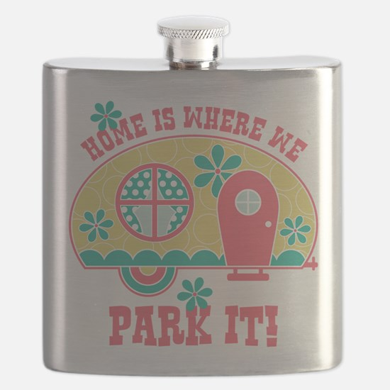 Home Is Where We Park It Flask