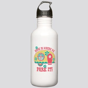 Home Is Where We Park Stainless Water Bottle 1.0L