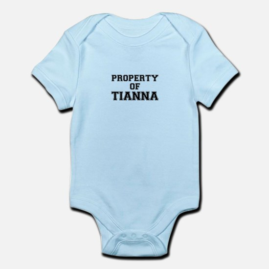 Property of TIANNA Body Suit