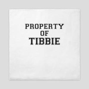 Property of TIBBIE Queen Duvet