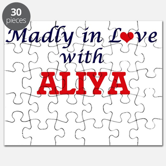 Madly in Love with Aliya Puzzle