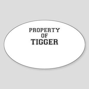 Property of TIGGER Sticker