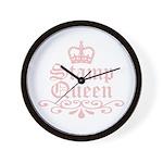 Stamp Queen Wall Clock