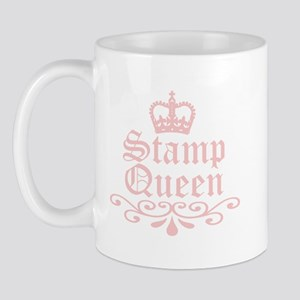 Stamp Queen Mug