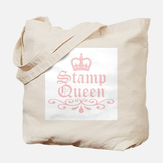 Stamp Queen Tote Bag