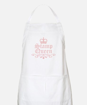 Stamp Queen BBQ Apron