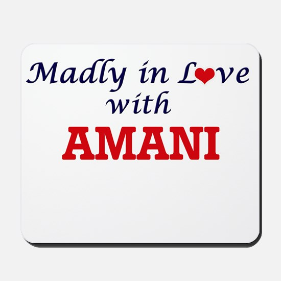 Madly in Love with Amani Mousepad