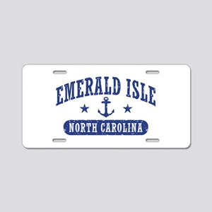 Emerald Isle NC Aluminum License Plate