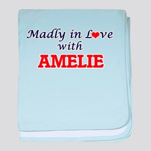 Madly in Love with Amelie baby blanket