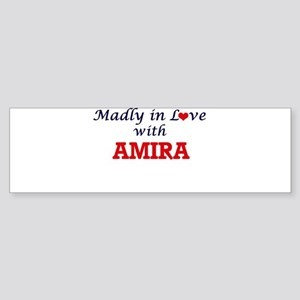 Madly in Love with Amira Bumper Sticker